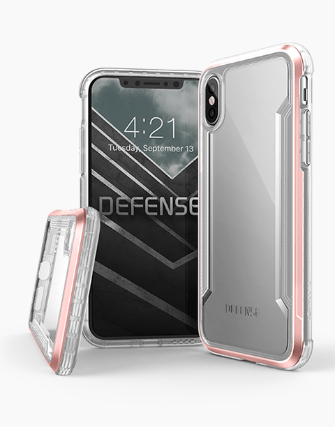 official photos 56772 5d067 Defense Shield By X-Doria iPhone Xs Max Anti Shocks Case Up To 3M – T/Rose