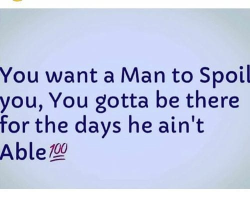 the secret of getting a man to spoil you