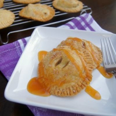 Dulce de Leche Hand Apple Pies …& some great news