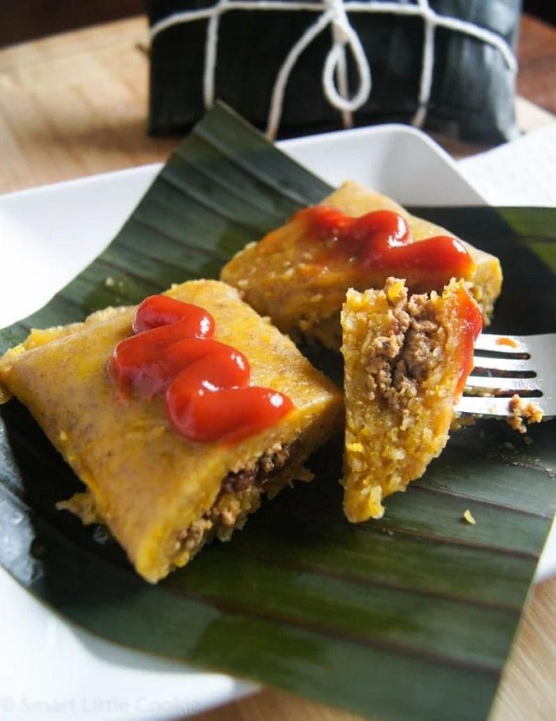 Pasteles en Hoja (Dominican Style Tamales)   SmartLittleCookie.net