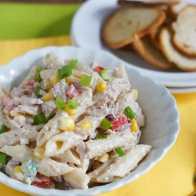 Tuna and Penne Pasta Salad
