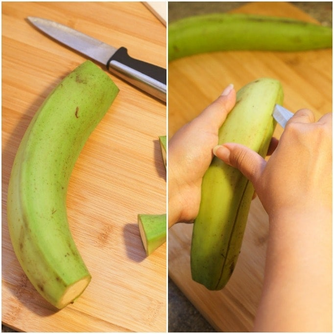 How to Peel Plantains   smartlittlecookie.net