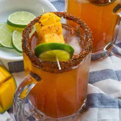 Spicy Mango Micheladas