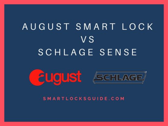 August Smart Lock vs Schlage Sense