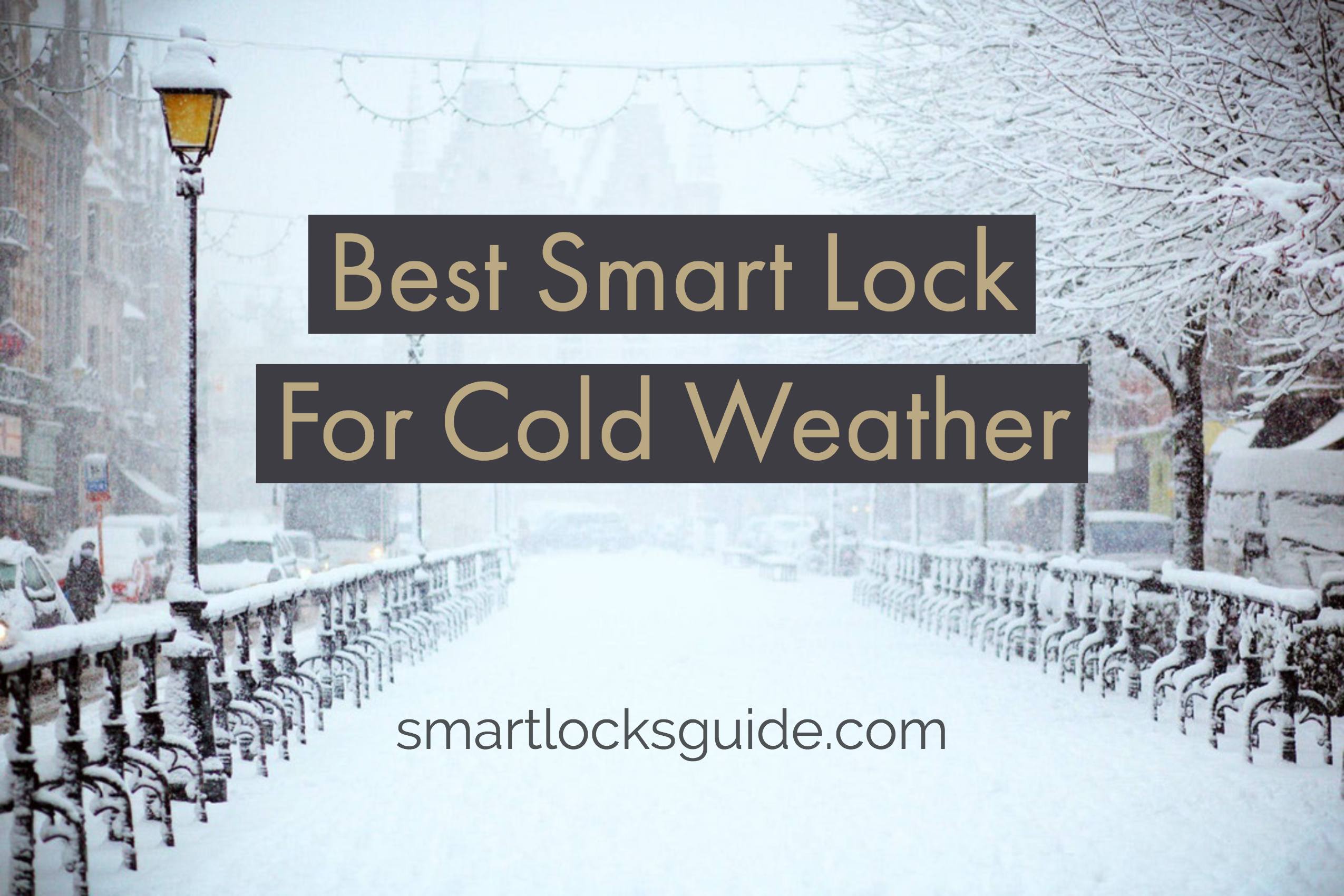 Best Smart Lock For Cold Weather