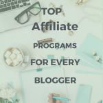 High paying affiliate programs for every blogger to make extra money.