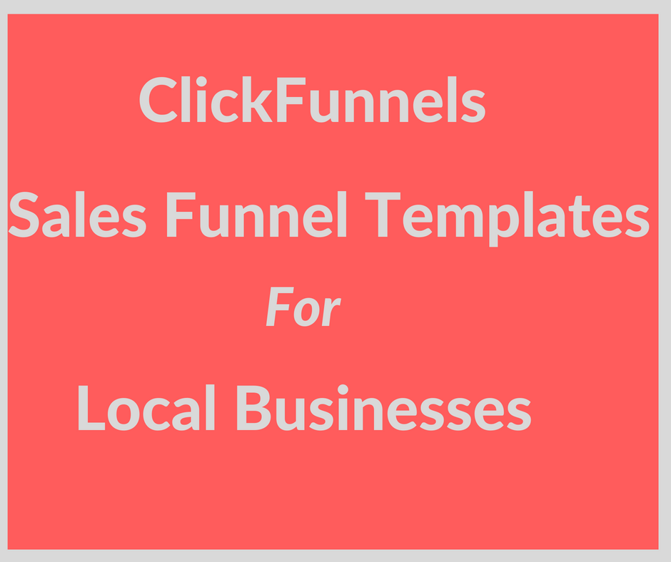 The Single Strategy To Use For Clickfunnels Funnel Templates