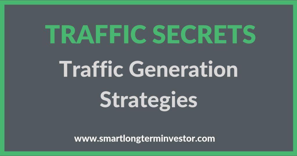 Traffic Secrets will show you how to generate both paid and organic traffic to your funnel and website including Google adwords, Pinterest, Bing ads, Solo ads, YouTube, Facebook and Instagram ads and includes Traffic Secrets Training from John Reese and Traffic Secrets Book from Russell Brunson.