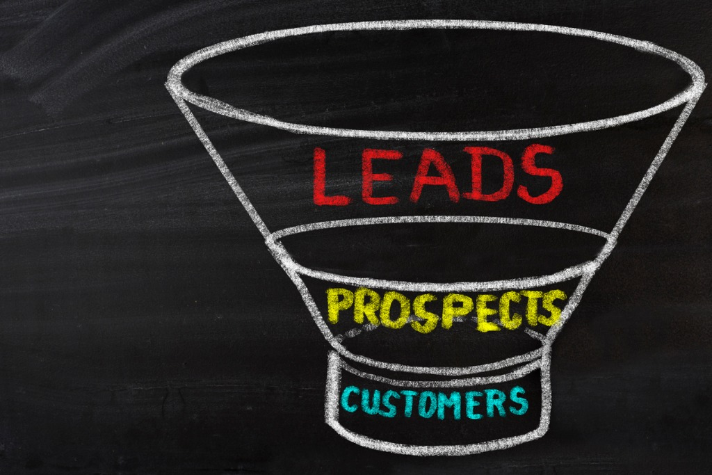5 Steps to building your online sales funnel from a landing page, sales page with a compelling offer, an upsell one time offer and a downsell