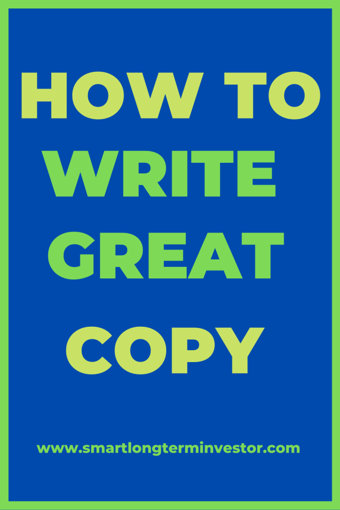 Copywriting Secrets from Jim Edwards shows how to write great, good and compelling copy to grow your subscribers and sales