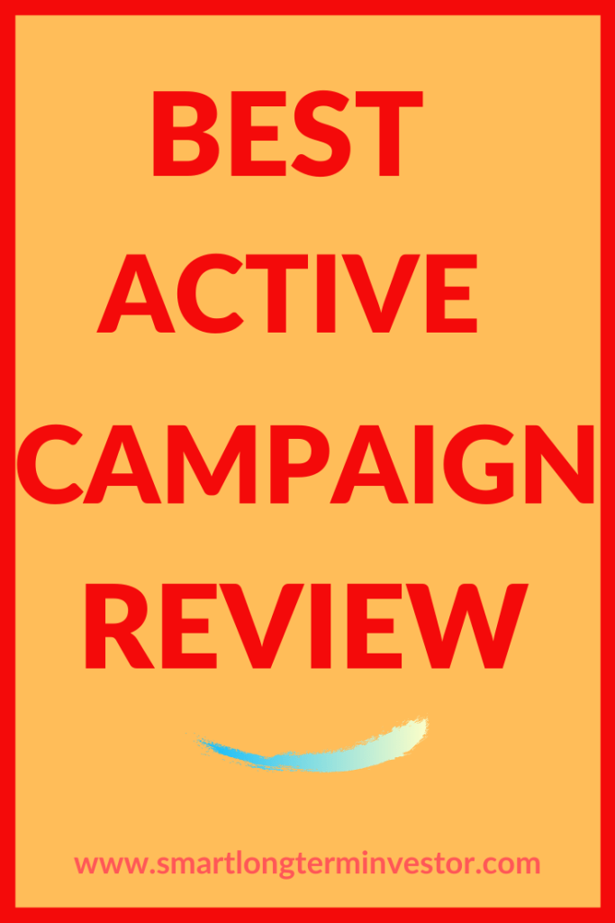Best Budget Email Marketing  Active Campaign Deals April