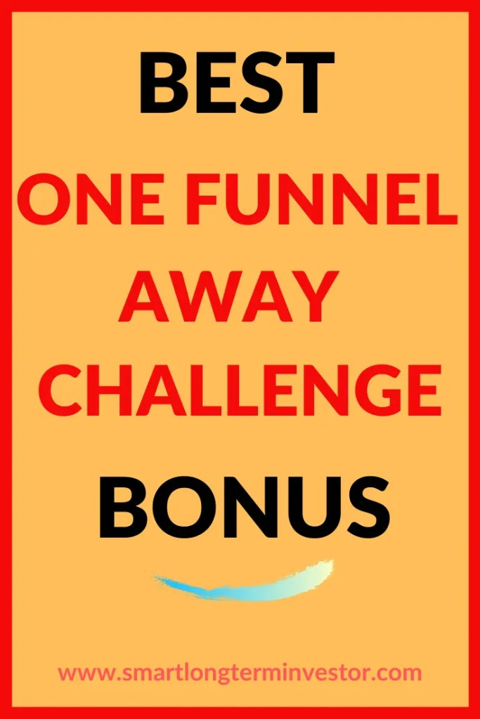 Best One Funnel Away Challenge Bonus Package worth $3126 from ClickFunnels and over $15000 from Chinedu Chiana