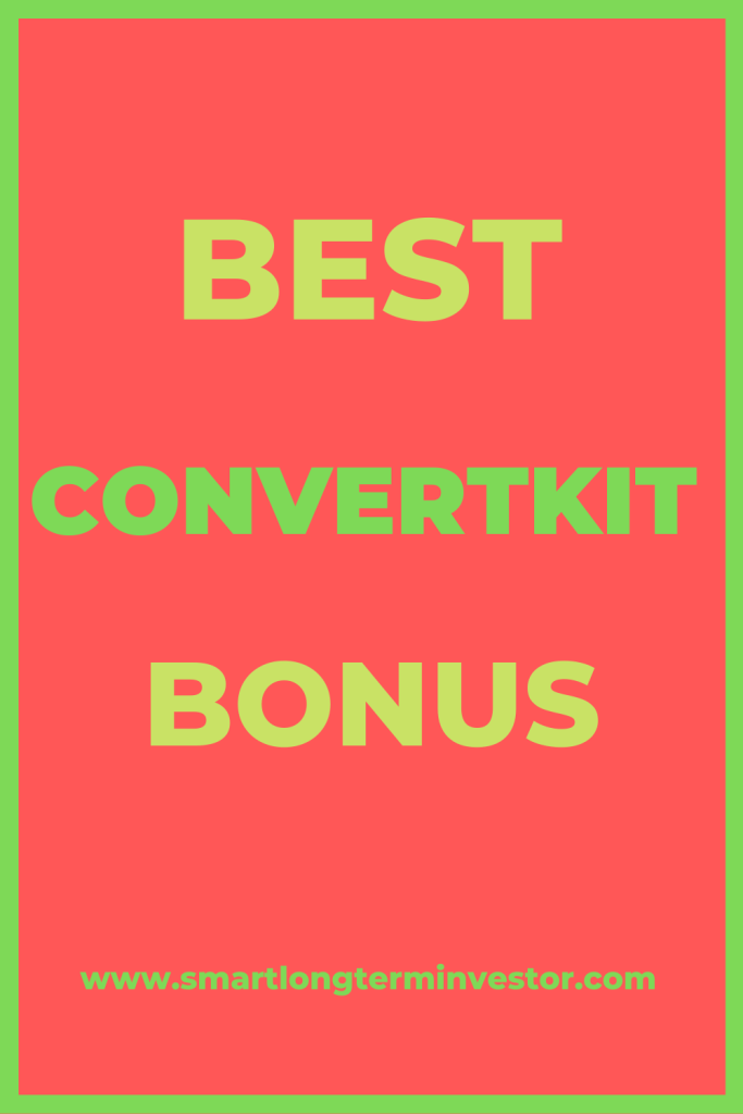 Best ConvertKit Bonus package available today when you sign up for the email autoresponder service