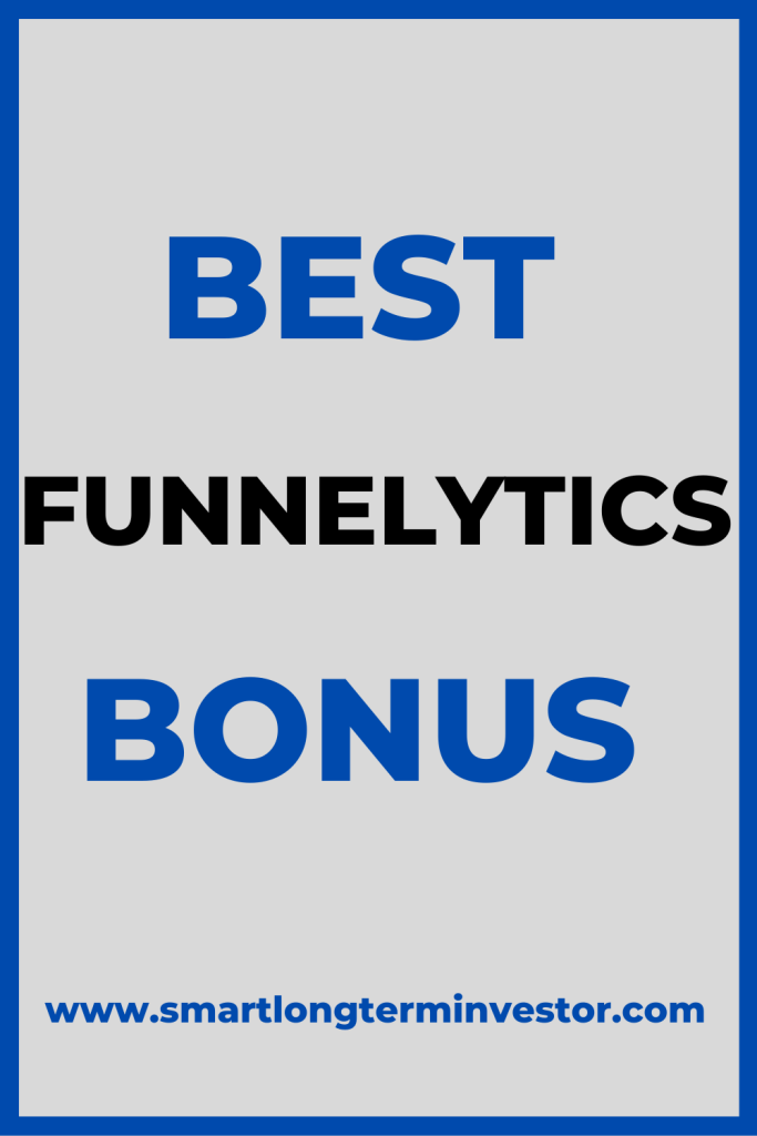 Best Funnelytics bonus package available today when you buy the Pro paid plan that comes with the Funnelytics Vault with over 50 funnel maps