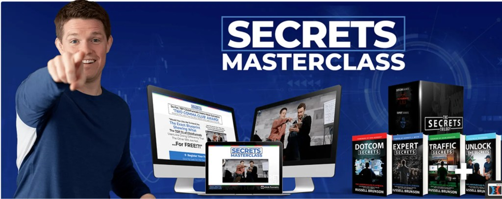 In the Secrets Masterclass Webinar, Russell Brunson shares the secrets that set the top 1% of ClickFunnels usesrs in the Two Comma Club apart from the rest