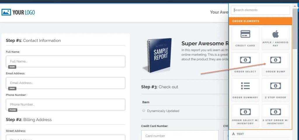 How To Add Order Bump Form To Order Form In Clickfunnels Sales Funnel