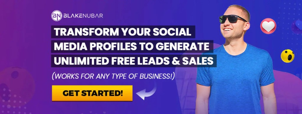 The Social Media Lead Machine lets you transform your Facebook profile to generate unlimited free leads and sales for any type of business