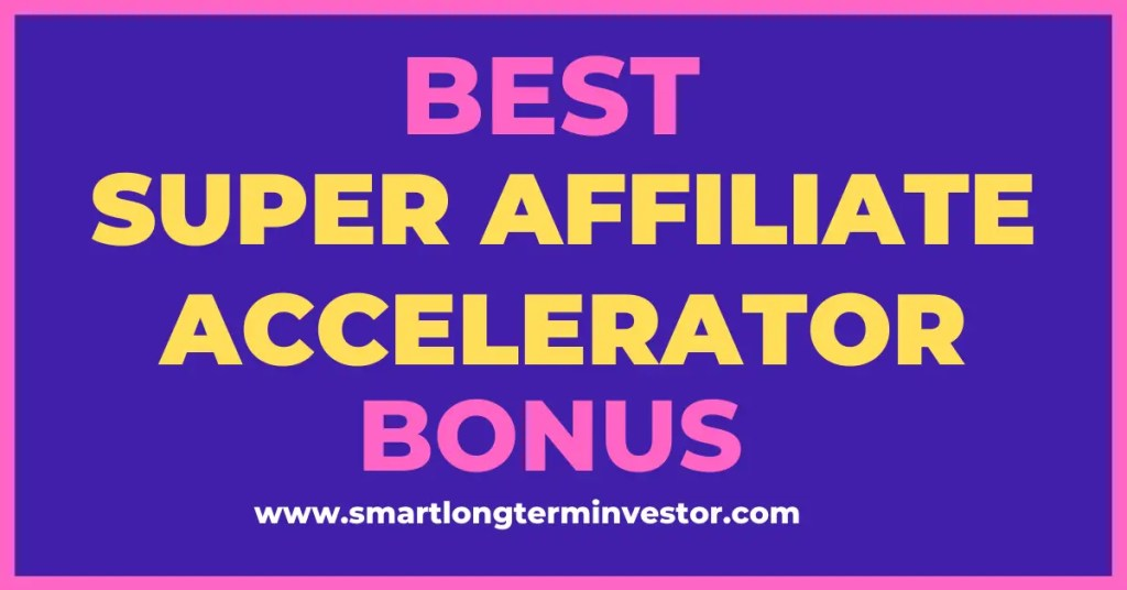 Best Super Affiliate Accelerator bonus package available today when you invest in Jacob Caris' high ticket affiliate marketing training program