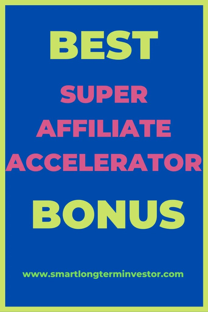 Best Super Affiliate Accelerator bonus package available today when you invest in Jacob Caris' high ticket affiliate marketing training