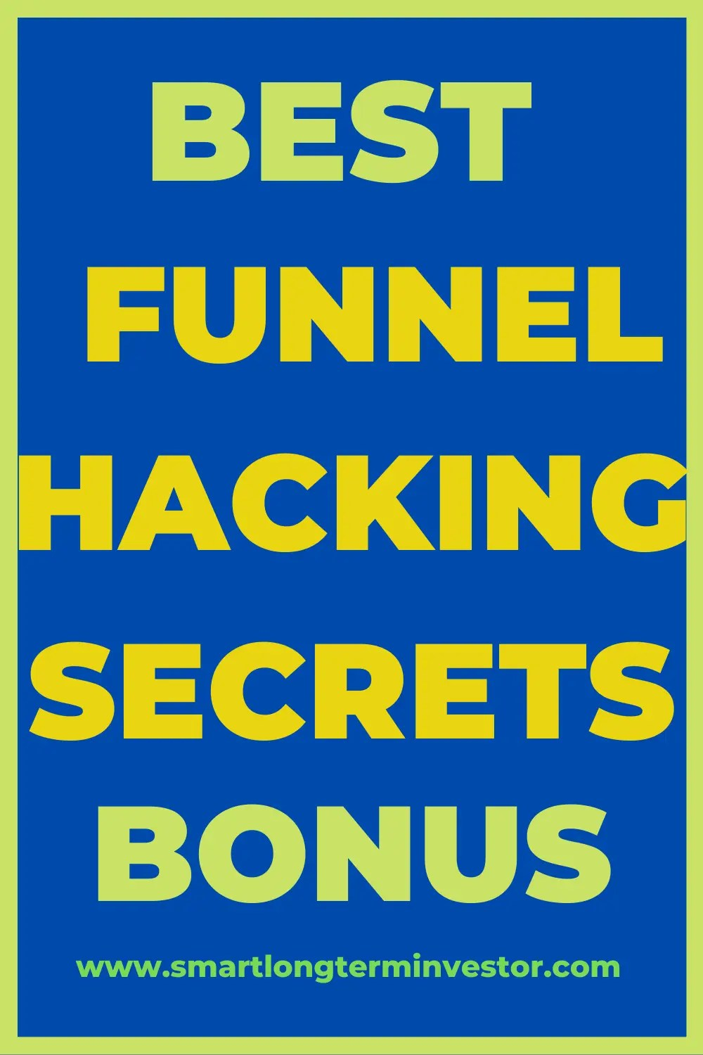 Best Funnel Hacking Secrets Bonus Package Available Today