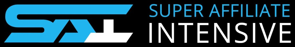 Logo for Super Affiliate Intensive which is a 4 day training by Jacob Caris on using the four core strategies of the MOCA Blueprint to build a high ticket affiliate marketing business
