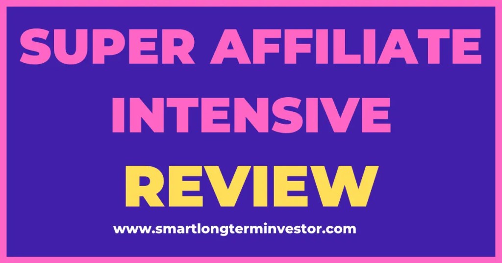 Super Affiliate Intensive is a 4 day training by Jacob Caris on using the four core strategies of the MOCA Blueprint to build a high ticket affiliate marketing business