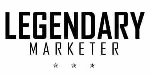 Legendary Marketer logo for the digital marketing educational company that teaches how to build a high profit online business