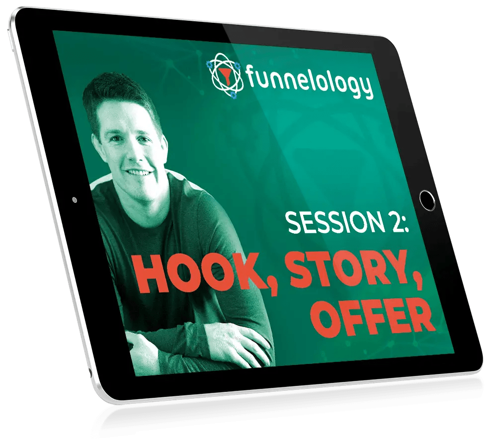 Funnelology is a Russell Brunson training to learn the art and science behind high converting sales funnels and the psychology behind them. It is a bonus with DotCom Secrets Summit.
