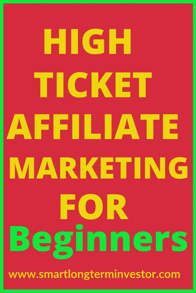 High ticket affiliate marketing is a digital marketing business model that can pay affiliates including beginners commissions of over $1000 for each product sale made through their unique affiliate links