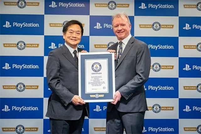 PlayStation с рекорд на Гинес