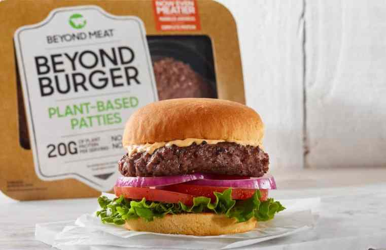 Beyond Meat пуска нови бургери, които са по-сочни и с по-ниско съдържание на наситени мазнини