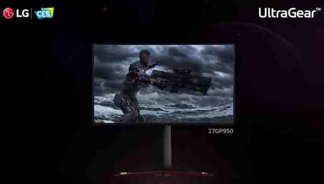 """LG представиха 31.5"""" 4K OLED гейминг монитор на CES"""