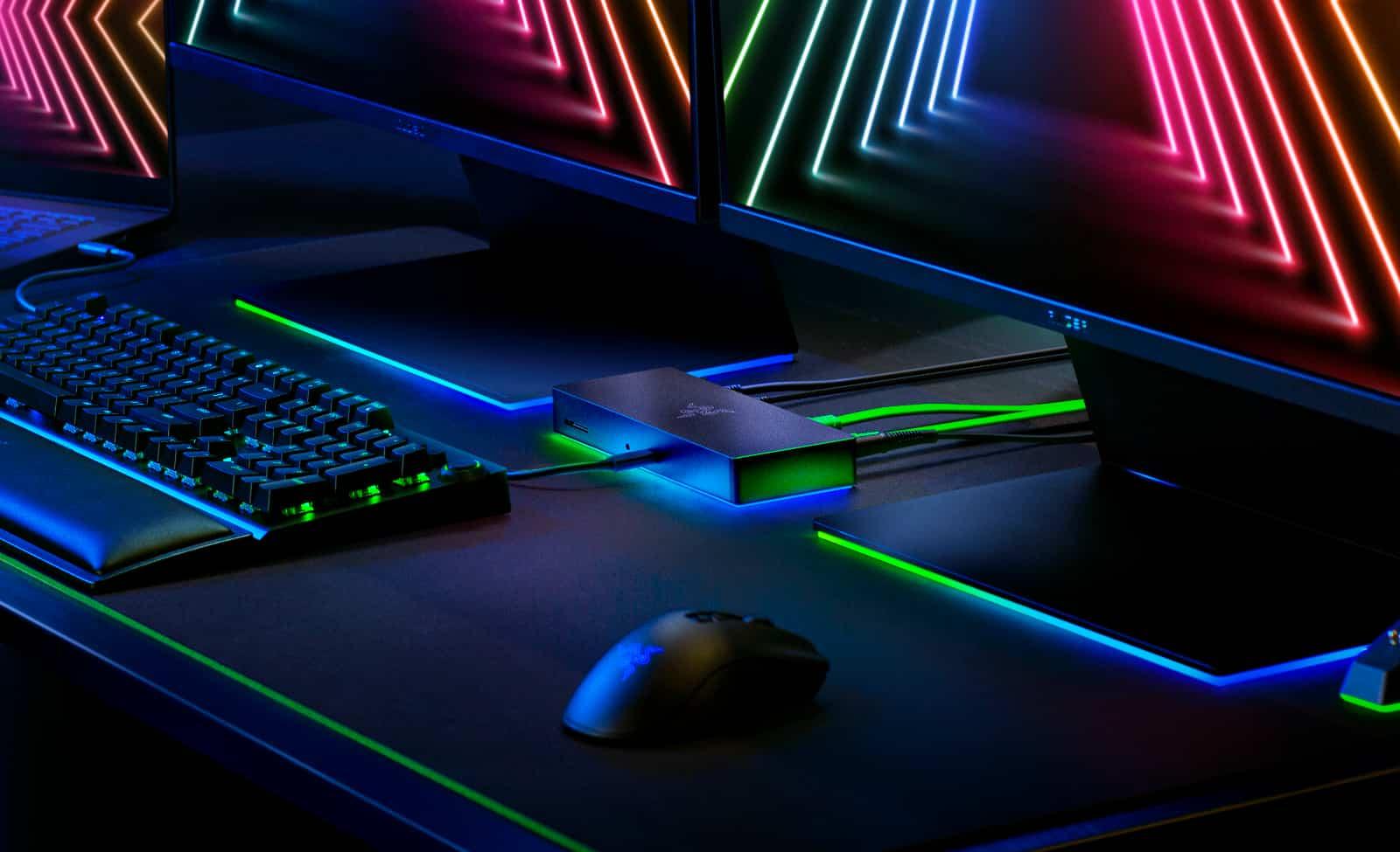 Новата докинг станция на Razer поддържа Thunderbolt 4, RGB и е пълна с екстри!
