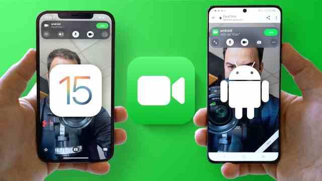 FaceTime с нови функции и вид в iOS 15