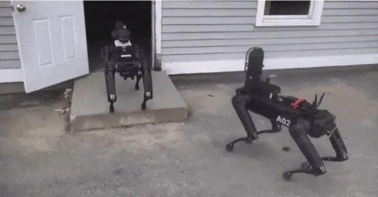 Politsei robot - kohapeal!