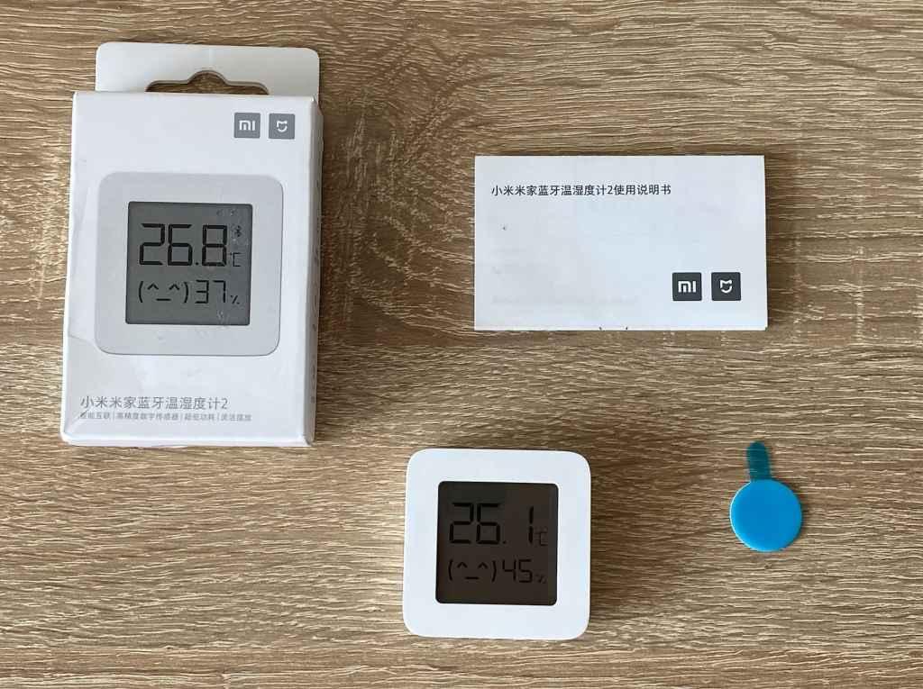 Mi Temperature & Humidity Monitor 2 all