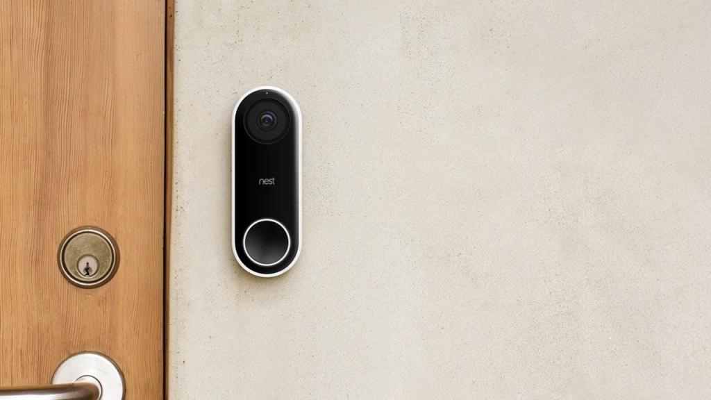 google salag video doorbell