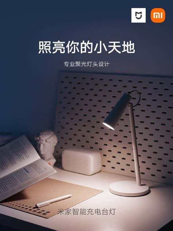 lampka biurkowa mijia