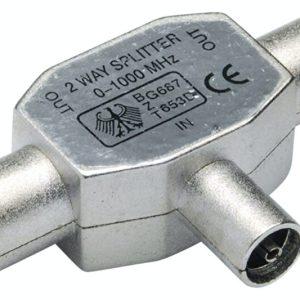 Antena Splitter coax IEC 9.5mm metalni utori