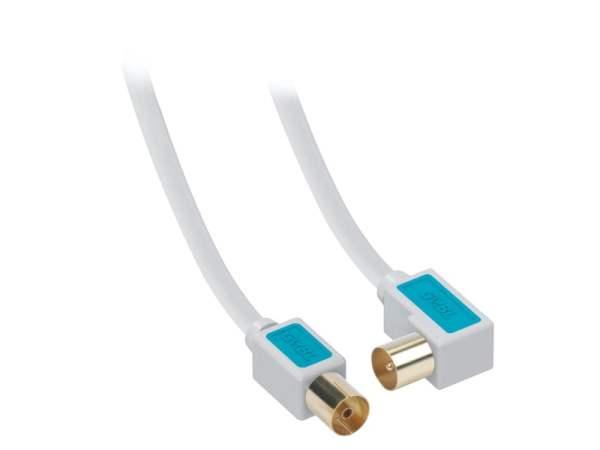 Antena Coax Kabel BOXLINE 90°M na F 1.5m
