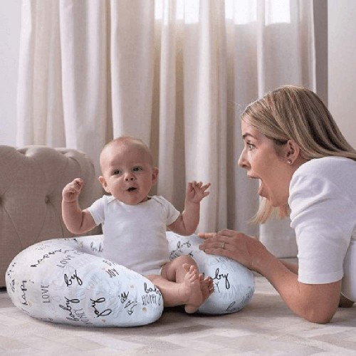 chicco boppy nursing pillow with slipcover 0m hello baby