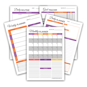 Free productivity planner to set daily, weekly and monthly schedules. Learn how to better manage your time using these time management tips