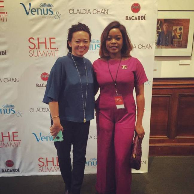 Claudia Chan and Arese Ugwu