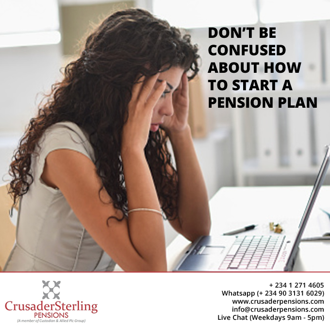 dont confused start pension plan