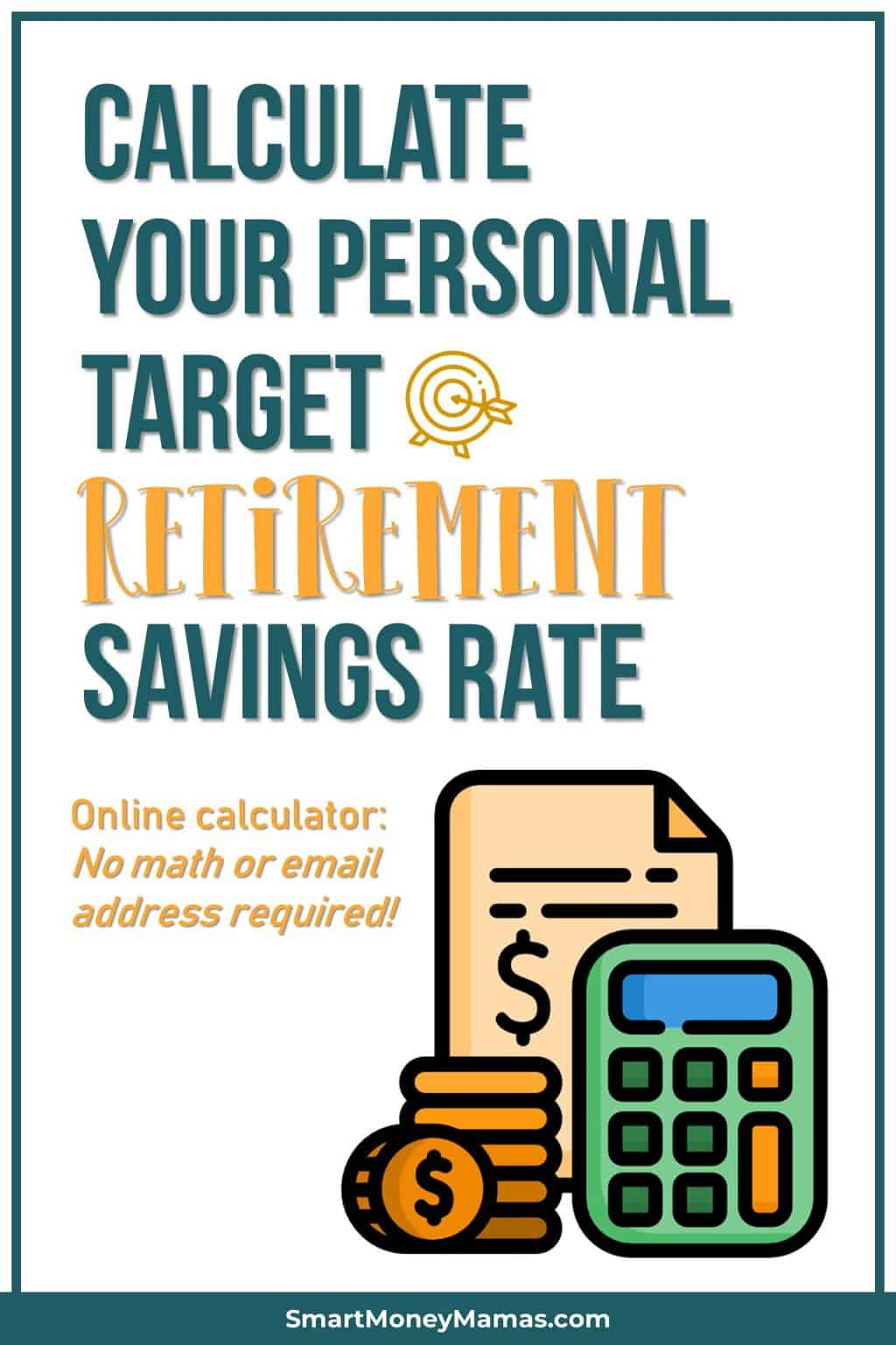 Discover Your Target Retirement Savings Rate Calculator