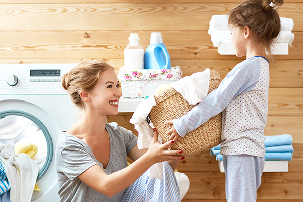 How to Teach Your Kids to do Laundry