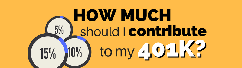 How Much Should I Contribute to My 401k?
