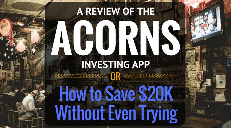 Review of Acorns investing app