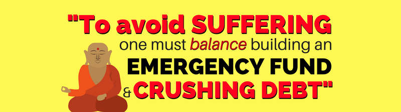 Build an Emergency Fund or Pay Off Debt? Which Should You Do First?