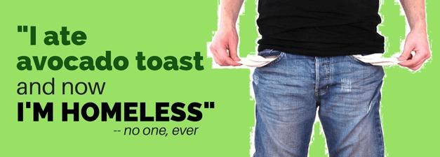 Is Avocado Toast REALLY Making You Broke?